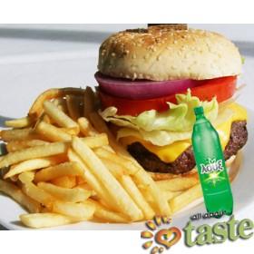 Burger Menu - Απλό χάμπουργκερ